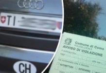 Automobilisti Ticinesi: Como si lamenta per mancati introiti per multe non pagate