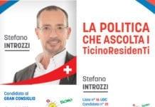 Stefano Introzzi: candidato al Gran Consiglio - UDC - nr. 1 lista 16