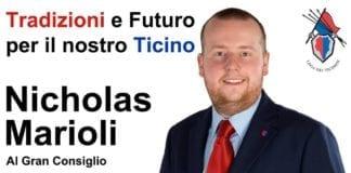 Nicholas Marioli - Candidato al Gran Consiglio nr. 37 lista 14 - Lega dei Ticinesi