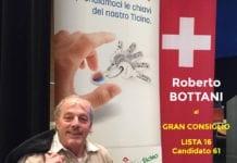 Roberto Bottani capitan Roby- Candidato al Gran Consiglio nr. 61 lista 16- UDC