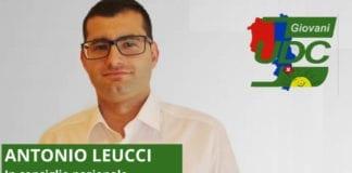 ANTONIO LEUCCI : candidato Giovani Udc Consiglio Nazionale - nr. 4, lista 10.