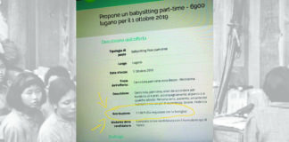 MERCATO DEL LAVORO : cercasi schiava baby sitter per 7 € all'ora