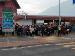 FFS: blocco totale, incidente o dramma tra Lugano e Melide?
