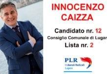 Innocenzo Caizza - candidato 12 lista 2 - Consiglio Comunale a Lugano