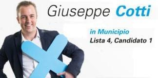 Giuseppe Cotti - candidato 1 lista 4 x Municipio Locarno