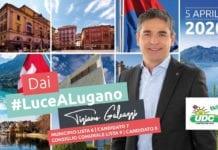 Tiziano Galeazzi - candidato 7 lista 6 al Municipio di Lugano e candidato 9 lista 9 al Consiglio Comunale di Lugano