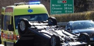 A2: incidente in direzione nord, autostrada bloccata