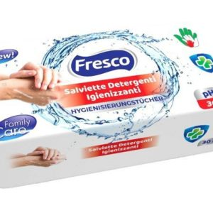 FRESCO salviettine igienizzanti - 30 pz al pacchetto - Box 16 pezzi