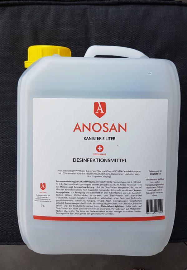 ANOSAN - Shop TIResidenti - Rivenditore autorizzato - tanica da 5l