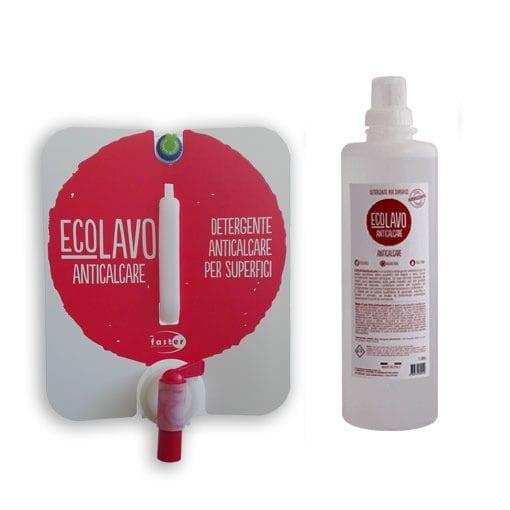 Lavaverde ANTICALCARE - detergente per superfici igienizzante - Ecolavo