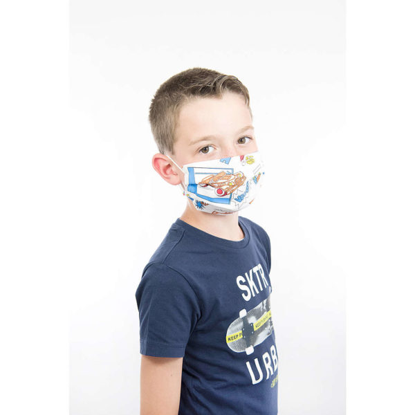 mascherina in tessuto lavabile bambino tiresidenti