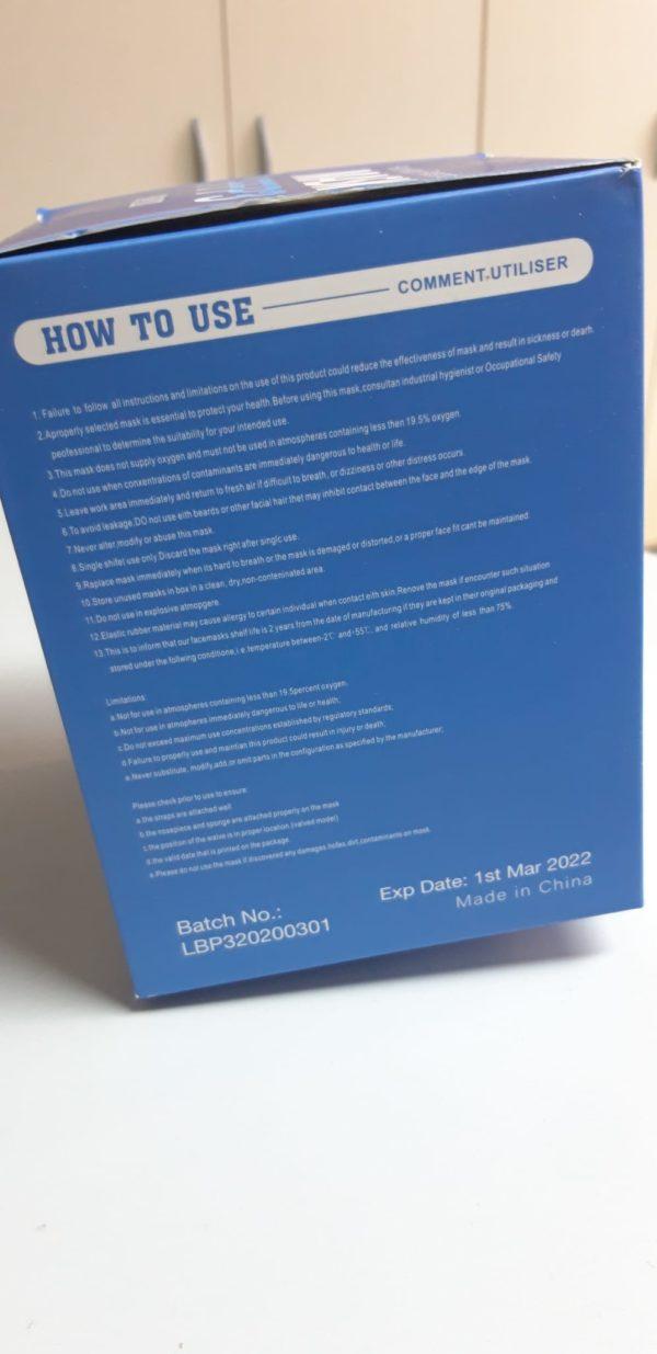 Mascherina FFP3 senza valvola - TIResidenti