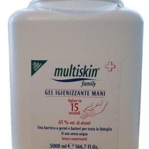 Multiskin gel igienizzante 5l - TIResidenti