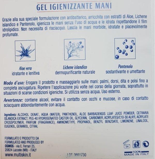 Multiskin gel igienizzante - TIResidenti