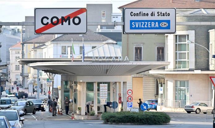 CONFINI: da martedì i confini con l'Italia saranno probabilmente preclusi agli svizzeri
