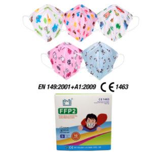 Mascherine FFP2 per bambino/a - TIResidenti
