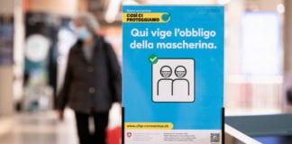 NUOVE MISURE: test di massa e multa per chi non indossa la mascherina