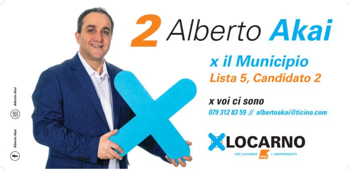 Alberto Akai - Municipio Lista 5, candidato 2 - Locarno