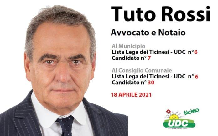 Tuto Rossi - Candidato Municipio e Consiglio Comunale Bellinzona