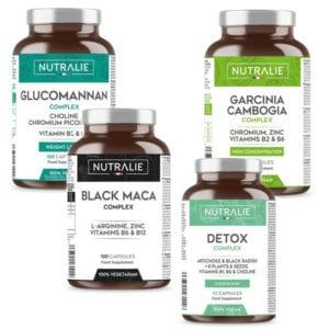 TOTAL DIET: Glucomannano, Garcinia, Black Maca e Detox complex