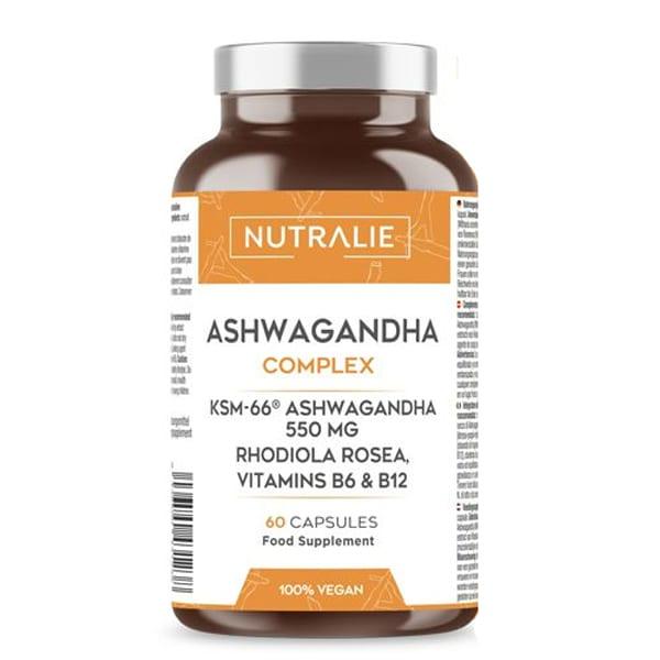 OLIO DI ASHWAGANDHA COMPLEX: 550 mg di Ashwagandha KSM-66®