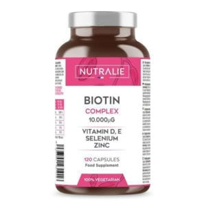 BIOTINA COMPLEX: biotina (10.000 mcg)+ zinco, selenio, vitamine D ed E