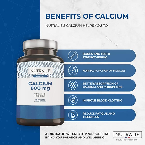 CALCIO ELEMENTS : calcio 800 mg con Magnesio e Vitamina D3