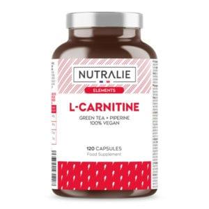 CARNITINA : L-Carnitina Pura brucia grassi, Tè Verde Naturale e Pepe Nero