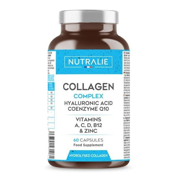 COLLAGENE COMPLEX: Acido Ialuronico, Vitamina C, Zinco e Coenzima Q10