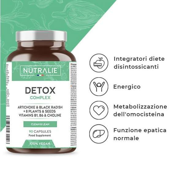 DETOX COMPLEX: Fegato   Piano Detox Dimagrante e Antiossidante - TIResidenti