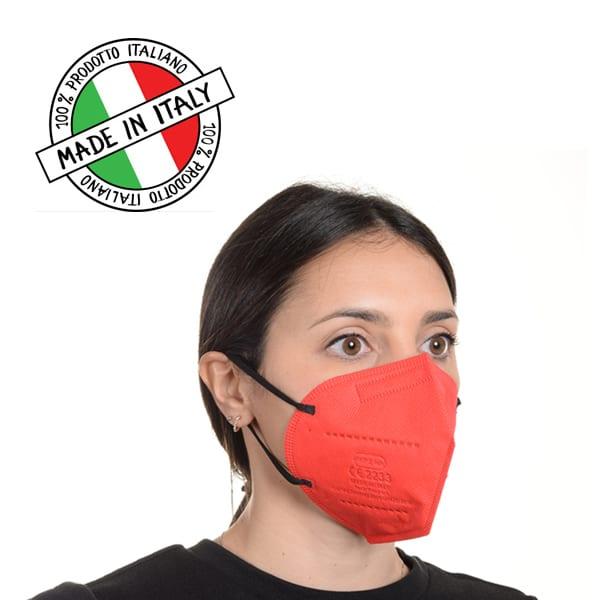 Mascherine FFP2 MULTICOLOR - MADE IN ITALY – Box RISPARMIO 10 pz