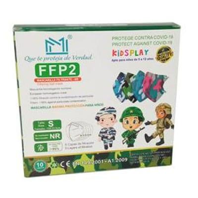 Mascherina FFP2 bambini Multicolor