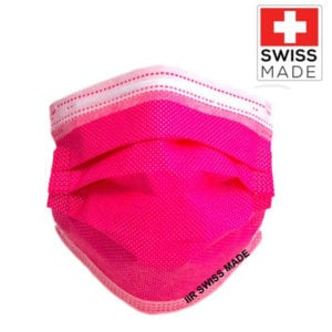 MASCHERINA CHIRURGICA IIR SWISS MADE - COLORE FUCSIA - TIResidenti