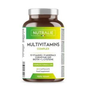 MULTIVITAMINICO COMPLEX: 29 Nutrienti Attivi | 9 Minerali, 13 Vitamine (A, D, C, D, E, K)