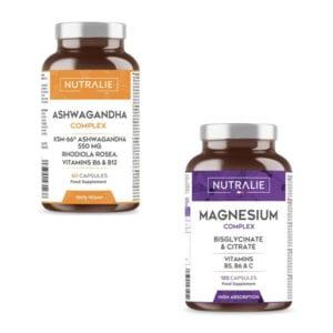 PACK LIB-PLUS DONNA: Magnesio citrato + 550 mg di Ashwagandha