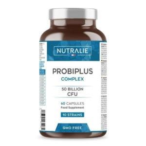 PROBIPLUS: Probiotici 50 Miliardi di UFC per dose, 10 Ceppi di Cellule Vive