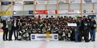 GIACOMO CASSERINI: terzo trofeo conquistato con l'Ajoie, nel 2020 la Coppa Svizzera.