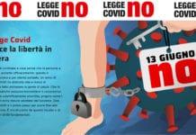 """REFERENDUM: il 13 giugno un """"NO"""" convinto alla Legge Covid per riprendersi la libertà."""