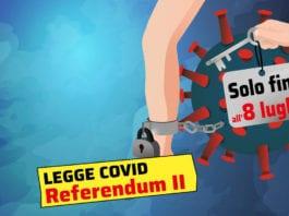 LEGGE COVID: 25mila firme in 15 giorni, a novembre nuova votazione.
